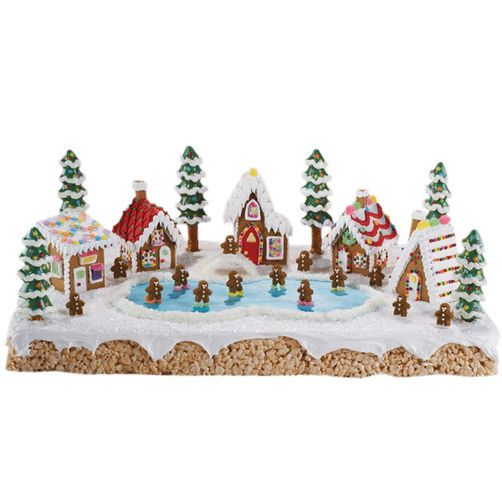 Skating Village Gingerbread Houses