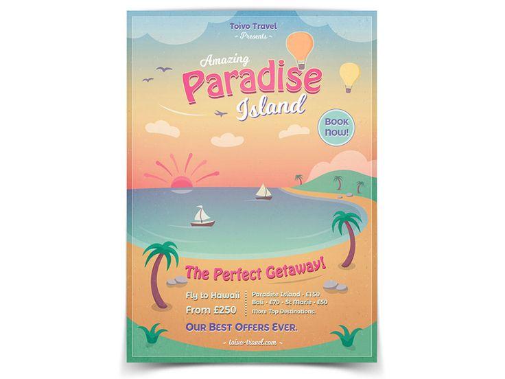 Paradise Island Flyer - buy it here: https://graphicriver.net/item/paradise-island-flyer/20269461