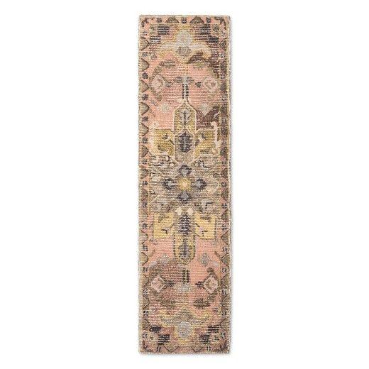5X7 Damask Area Rug  Threshold  KitchenDining  Rugs Area rugs Gray runner rug