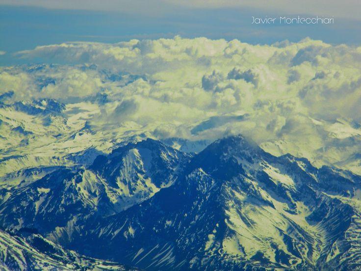 Fotografiando la Imaginación: Los Andes desde arriba