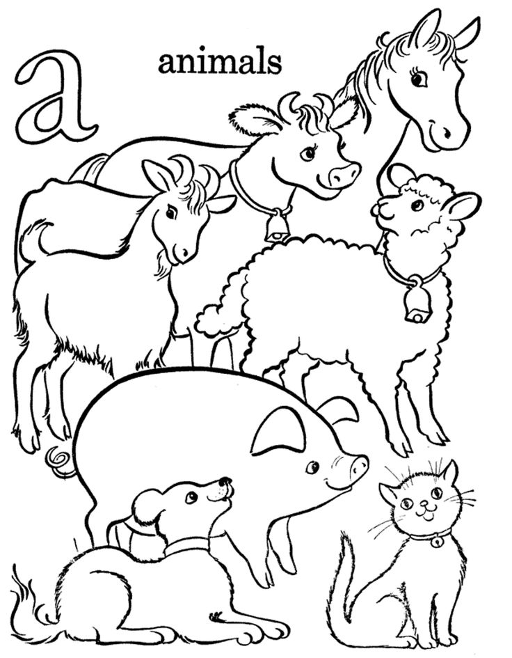 image search results for free toddler alphabet coloring pages alphabet coloring pages with lots of animals