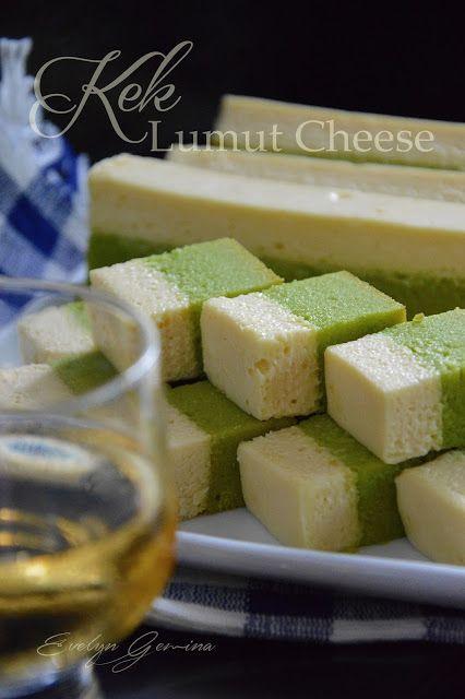 Satu lagi resepi kek sarawak yang sedap!!! Sebelum ni buat Kek Lumut saja...bila tambah cheese mmg bertambah dahsyat rasanya....
