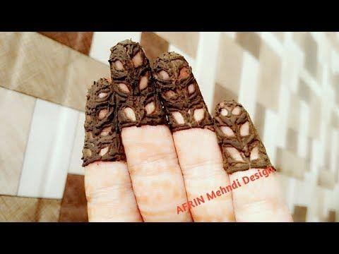 New Easy Finger Mehndi Design /Fingertip Heena Mehndi Design  #mehndi #henna #hennatattoo #hennadesign #fashion #mehndibyAfrin #hennatattoo #handmehndi #fingermehndi #fingertip #latest #fashion #adorable #art #artist
