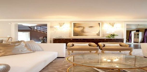 Decorating with Feng Shui Colors using Warm Metallic Elements