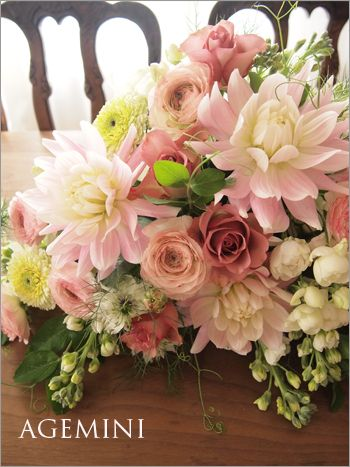 メインテーブル装花。 | ウェディングブーケデザイナーの日記