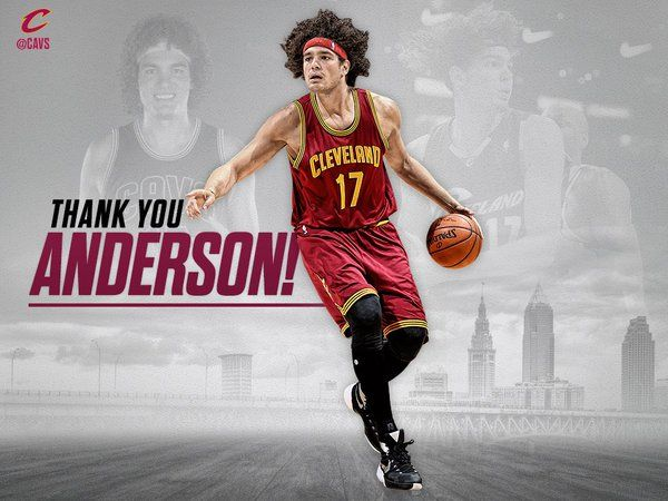 Goodbye, thanks and best wishes to Anderson Varejão #17, a true pro and even better person! #ThankYouAndy