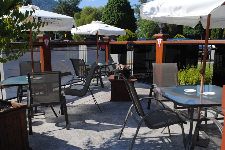 The Black Iron Grill and Steakhouse Patio