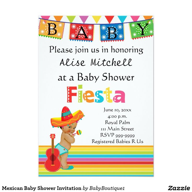 mexican baby shower invitation mexican baby showers mexican babies