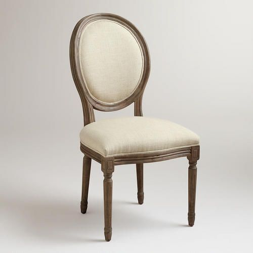 @Jereme Thaxton 2 chairs for only $199.98 from world market for the formal dining room.  They would go well with the tufted chesterfield.  They also come in a great lime velvet.