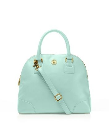 such a cute color! bag by Tory Burch