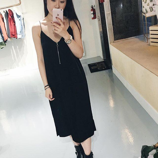 Nana Dress @justfemale .  .  .  .  .  .  .  .  #unicorniostudio #newarrivals #fashionlovers #fashionboutique #onlineshopping #supportlocal #fashionblogger #ukfashion #canadianfashion #ootd #ootdfashion #instafashion #yyt #blackdress #basic #shopsmall #shoplocal