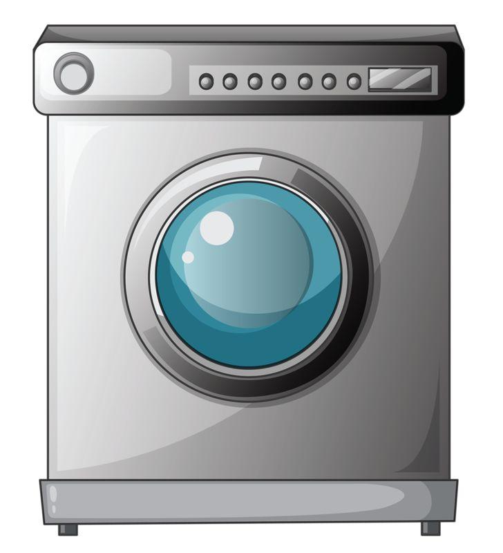 Waschmaschine clipart  361 besten ClipArt ~ Möbler, Vitvaror, Heminredning, Städ m.m. ...