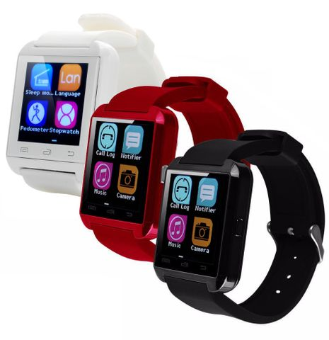 """Includes: 1 Smartwatch  Compatible with: iPhone 4/4s/5/5s/6/6+ IOS Samsung note/s6 android  Main Features:      1.44"""" Capacitive Touch Screen TFT LCD     Time / Date / Week / Battery state display     Ringing reminder when you receive a call     Ringing reminder once your mobile phone disconnected     Display the number or name of incoming calls     Answer or Dial calls from your wrist #smart #watch #iphone #samsung #mobile #phone"""