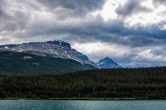 @InShoesOfM: Nature Photography Landscape Print Canada Rockies Art