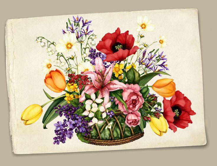 Флеш открытка 8 марта открытки