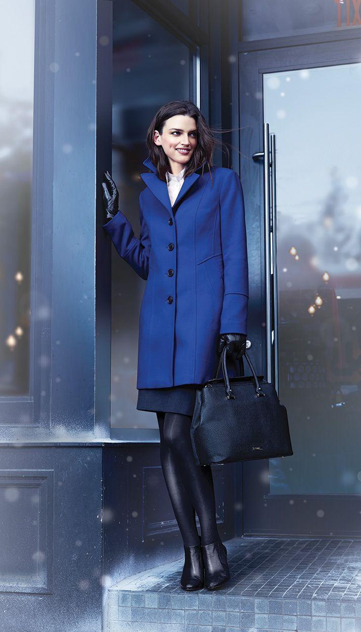 JESSICA®/MD Women's Washable Faux-Wool Pea Jacket #SearsWishlist