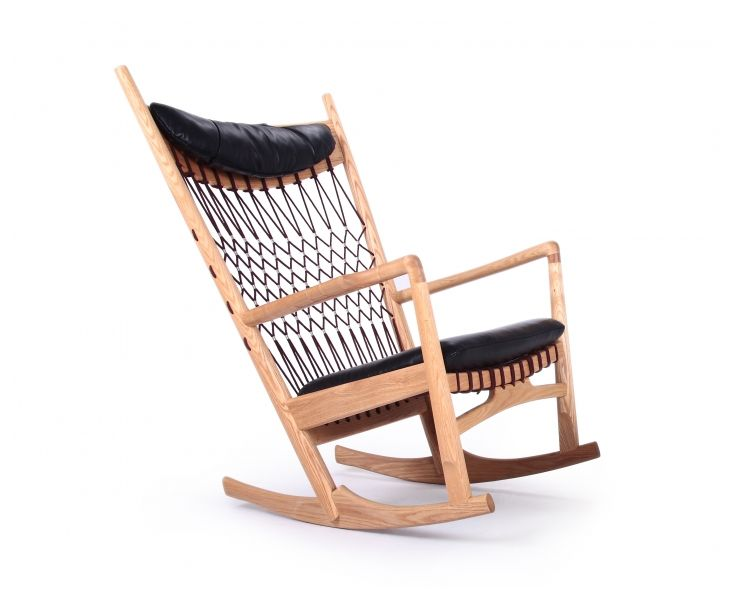 ... rocking chair modena black natural rocking chairs lounge chairs chair