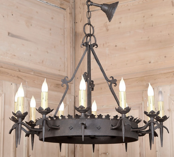 7 Best Rustic & Western Chandeliers Images On Pinterest