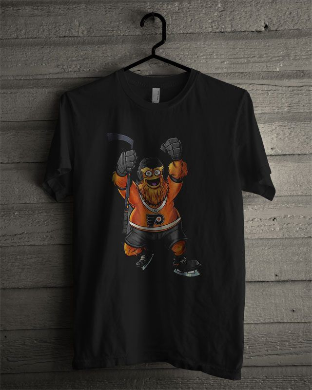 Hot Keep It Gritty Philadelphia Flyers Hockey Mascot T Shirt  8279d89ae