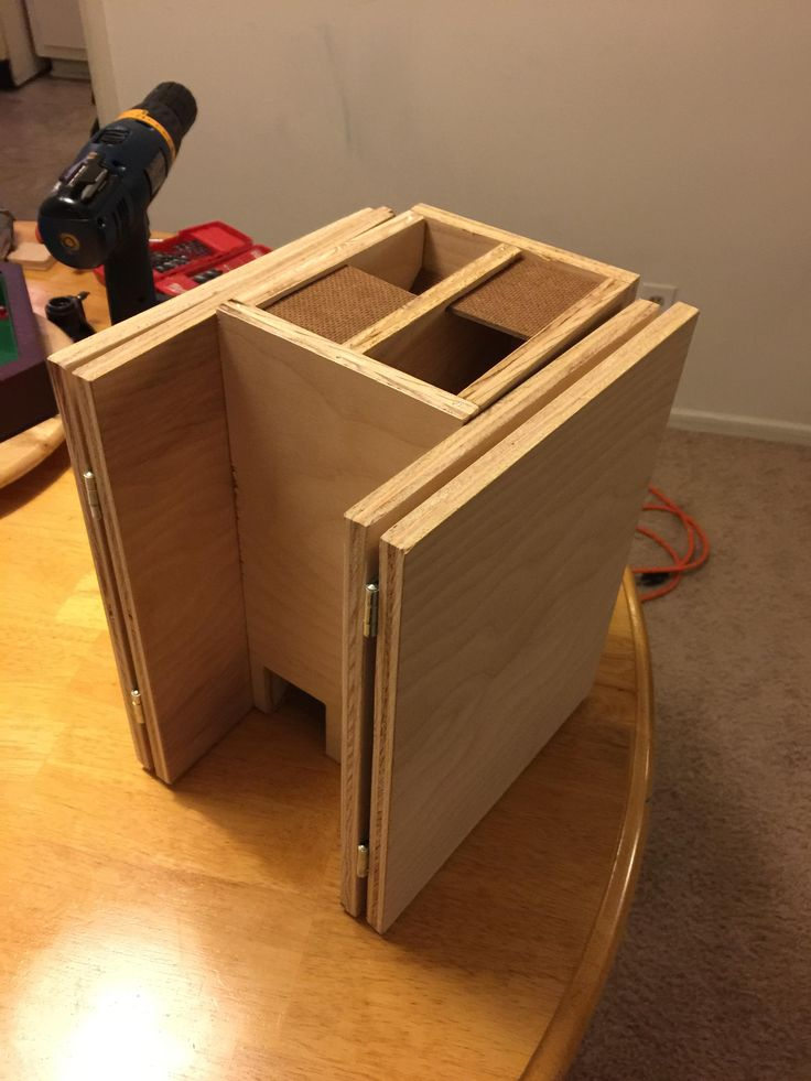 Wooden DM Screen and Dice Tower - Album on Imgur
