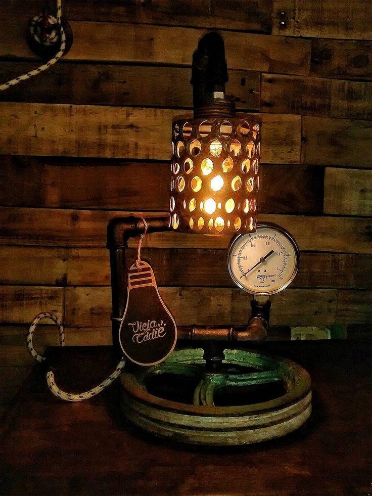 Encontrá las mejores ideas e inspiración para el hogar. Lampara Industrial Vintage Polea Reclaimed por Vieja Eddie   homify
