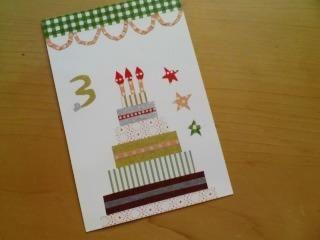 もらって嬉しい!手作りバースデーカードでお祝い♡簡単&オシャレな作品集の8枚目の写真 | マシマロ