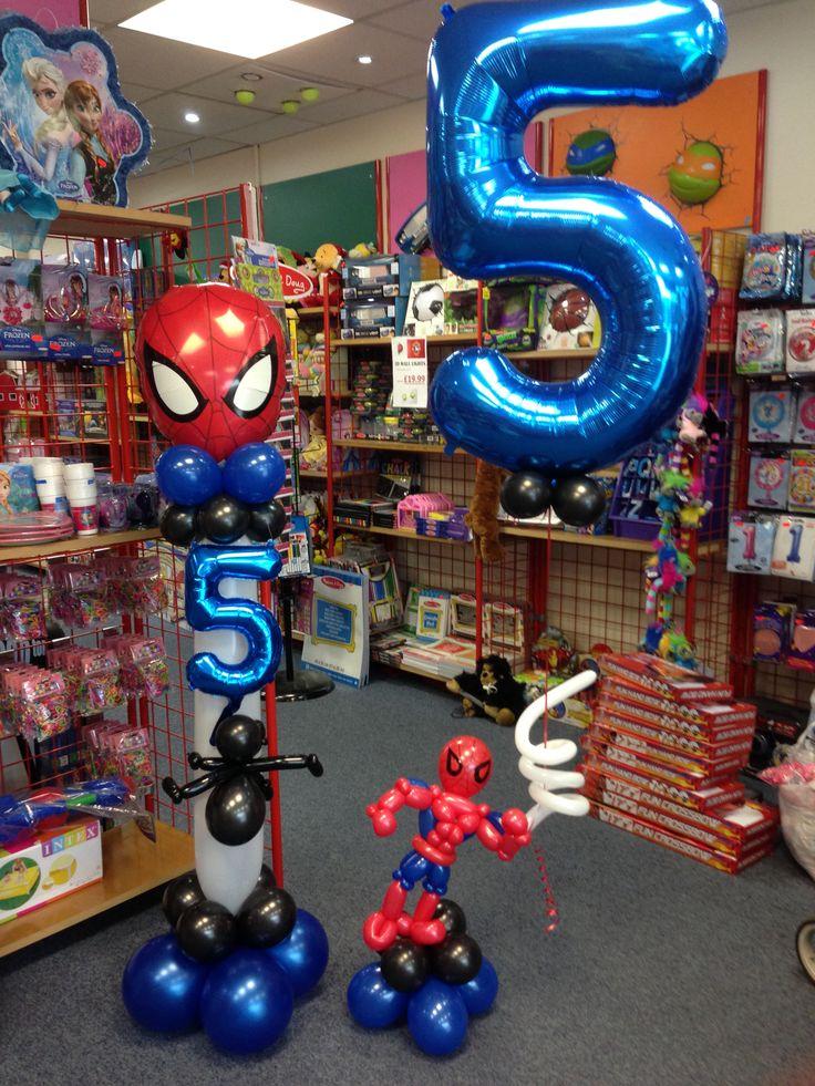 Spider-Man balloons