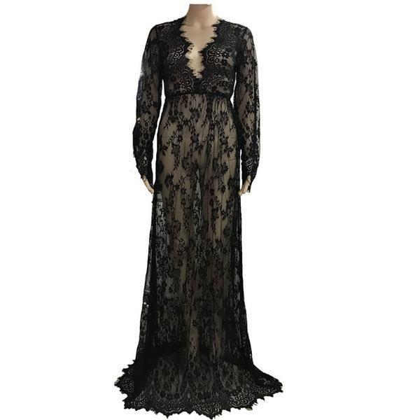 45f1133ad7 White Lace Sexy Summer Long Maxi Women Night Dress Plus Big Large ...
