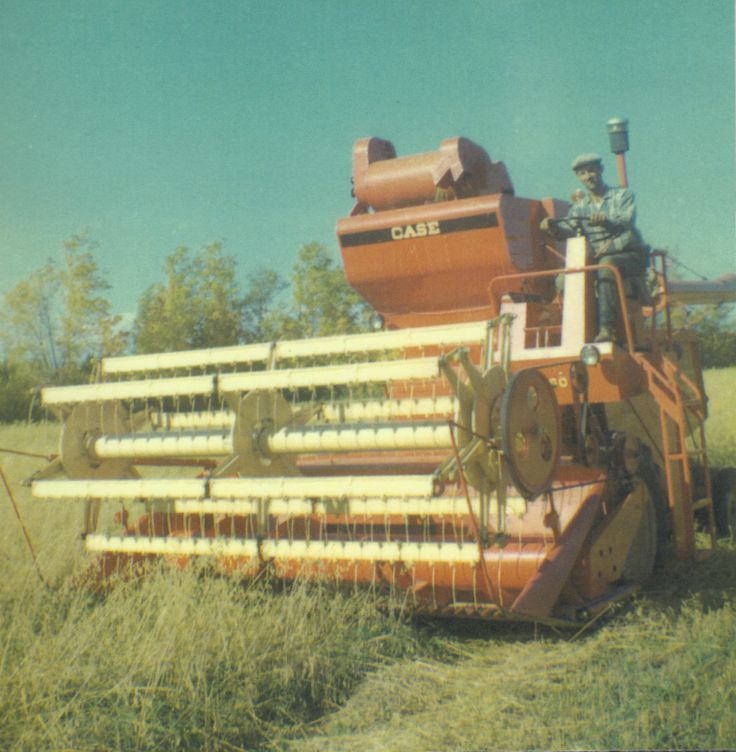 My father pride, 1969 Case 660 combine