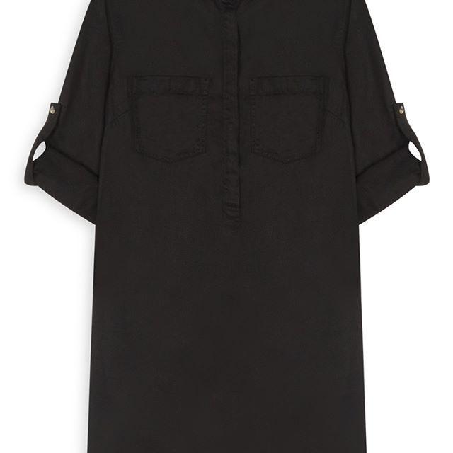 Vestido camisa negra  Categoría:#primark_mujer #ropa_de_mujer #vestidos en #PRIMARK #PRIMANIA #primarkespaña  Más detalles en: http://ift.tt/2nqmxIR