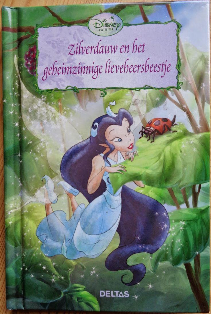 Disney Fairies book 'Zilverdauw en het geheimzinnige lieveheersbeestje' ('Silvermist and the Ladybug Curse')
