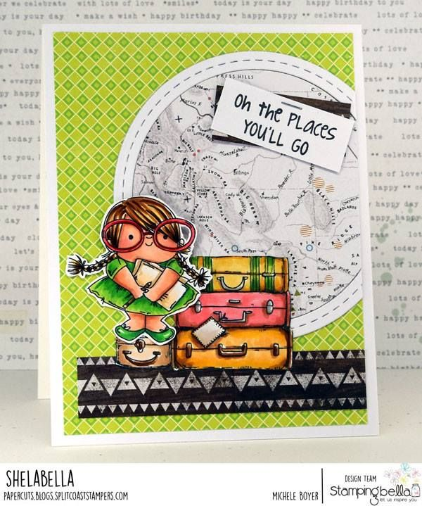 Www Stampingbella Com Rubber Stamp Used Squidgy Pals And The