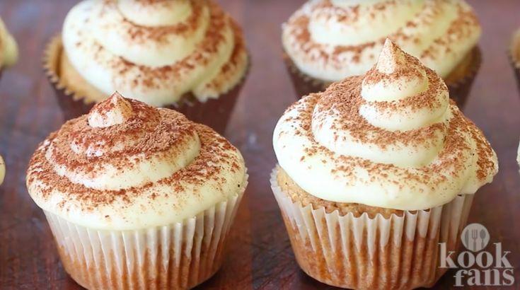 Om te smullen: overheerlijke tiramisu-cupcakes!