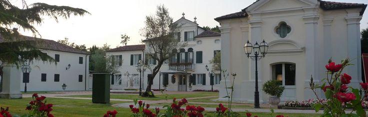 The exterior of Relais Villa Fiorita in Monastier di Treviso, italy - www.villafiorita.it