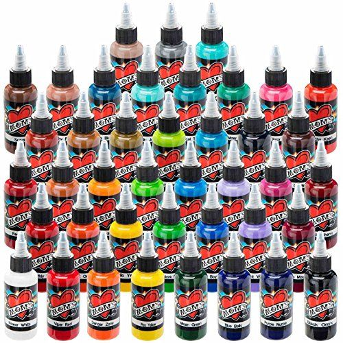 Millennium Moms Tattoo Ink  41 Color Set  12 oz -- More info could be found at the image url. Note:It is Affiliate Link to Amazon.