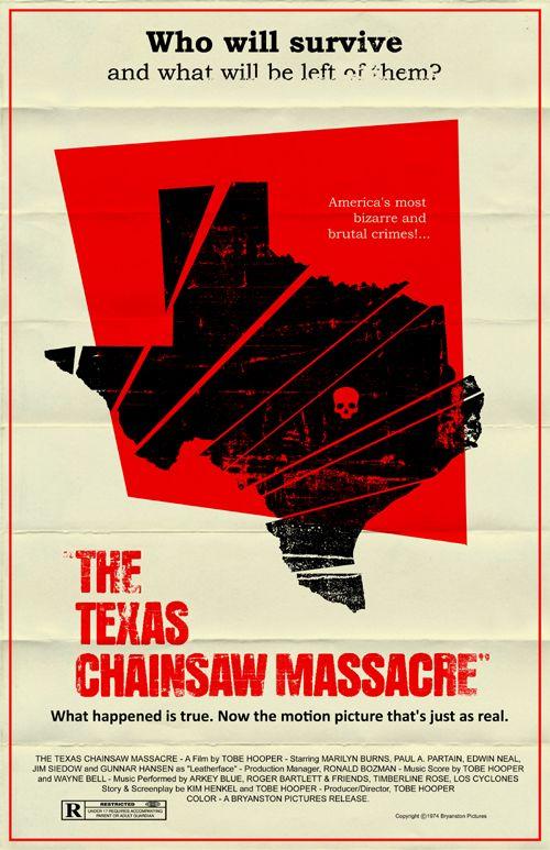 Texas Chainsaw Massacre poster by markwelser.deviantart.com