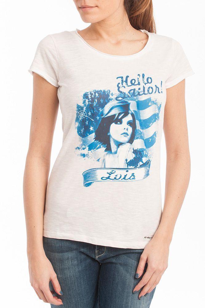 Camiseta con ilustración by Lois Jeans