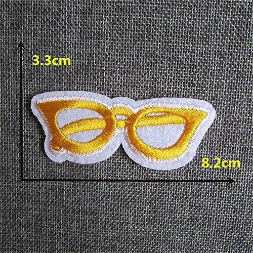 FairyTeller 2016 Year Different New Arrival Eye Ball Patch Hot Melt Adhesive Applique Embroidery Patch Diy Clothing Accessory Patch * Visit the image link more details.