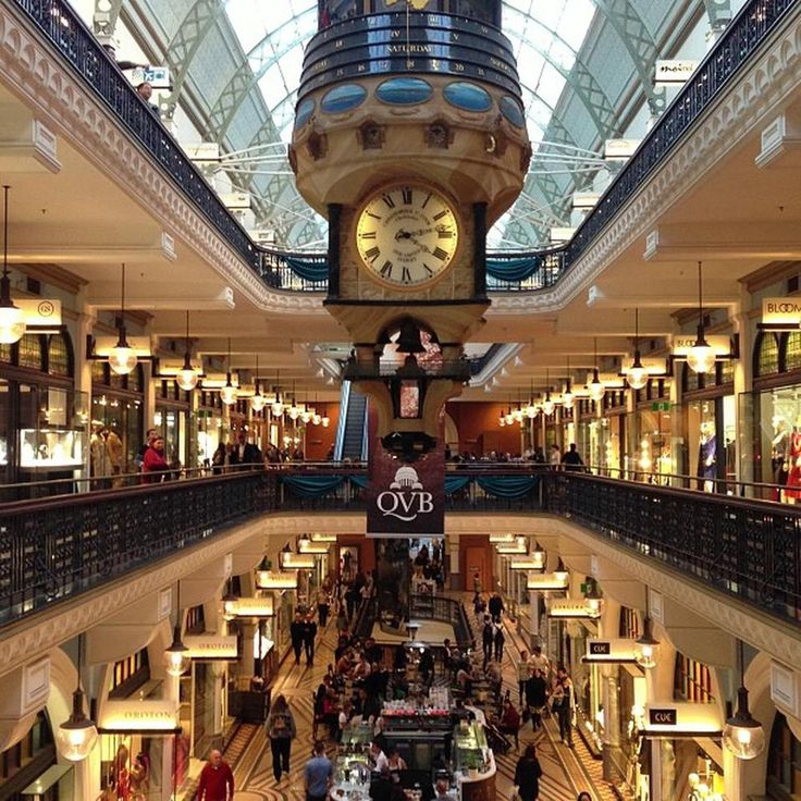 Queen Victoria Building (QVB) - Looking to bring back souvenirs? Everything can be found here #Sydney