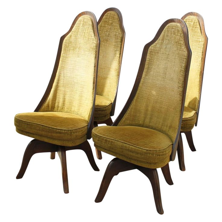 Mid Century Chet Beardsley Dining Chairs  Set Of 4 On Chairish.com