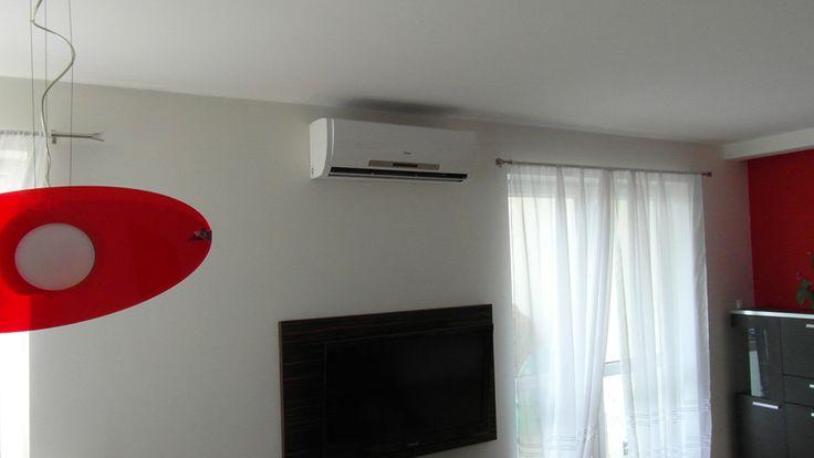 Montaż klimatyzacji w mieszkaniu firmy Mistral