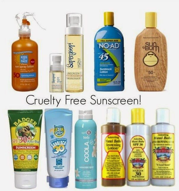 CRUELTY FREE Sunscreen - click for more cruelty free brands | Beauty4Free2U