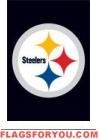 """Steelers Mini Flag 15"""" x 10 1/2"""""""