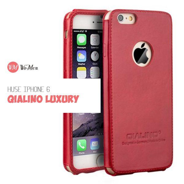 Husa pentru iPhone 6 din colectia QIALINO Luxury este chiar minunata!