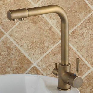 Hot & Cold Water & RO filter Antique Water Purifier Kitchen Mixer Tap TP3301A