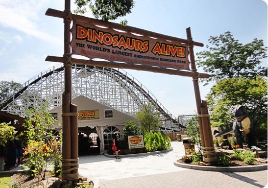 Double Dare Design - Dinosaurs Alive at Kings Island