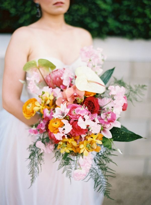 Gorgeous Bright and Bold Bouquet by @thelittlebranch