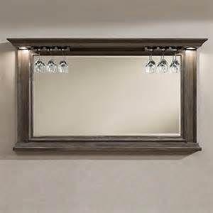 Search Bar mirror wine glass holder. Views 2141.