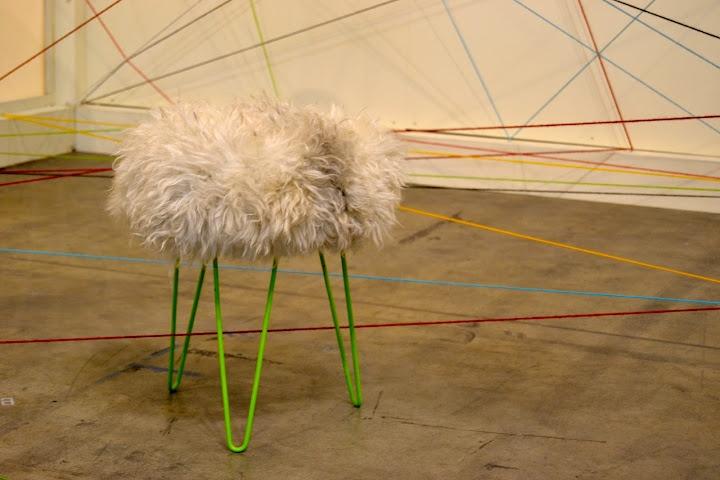 fur seat