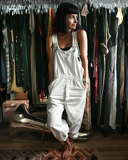 """Vintage Lee overalls """"This is what I wear when I just want to feel perfectly comfortable."""""""